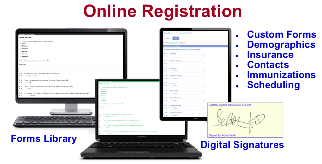 Online Registration for Athletes